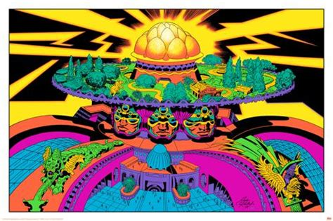 jack kirby lord of light prints lord of light on lsd the art of jack kirby