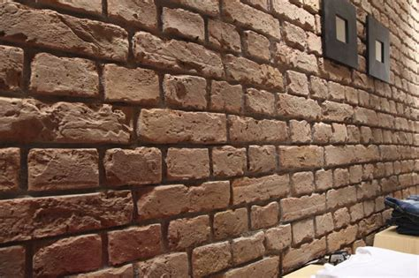Brick Effect Cladding Interior by Brick Wall Panels Dreamwall Wallcoverings With A