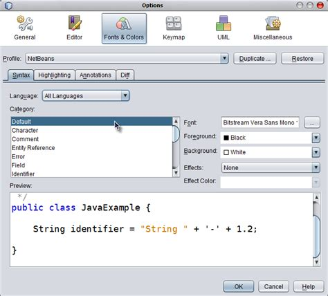 netbeans swing look and feel start netbeans 6 5 with nimbus look and feel messages