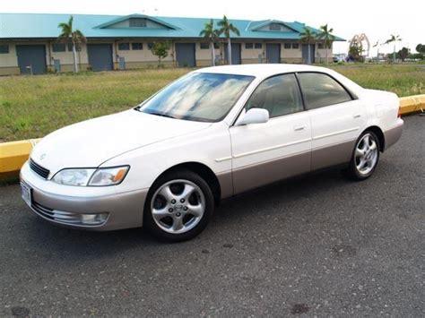 lexus es300 white autoland 1997 lexus es300 pearl white sport suspension