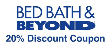 20 percent off bed bath beyond 20 coupon bed bath