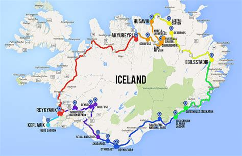 map my travels maps update 600374 iceland tourist map iceland tourist