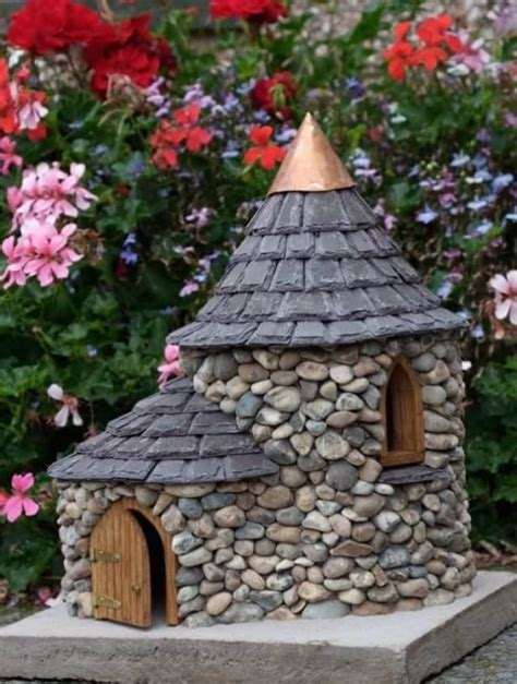 Succulent Planters by Stone Fairy House How To Make Your Own The Whoot