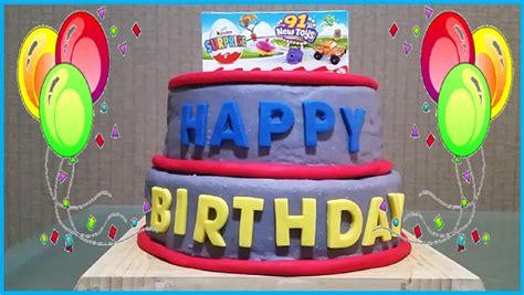 Dun Doh Birthday Cake birthday play doh cake toys disney shopkin hello minions