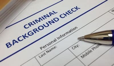 Adverse Information On Criminal Record Check Pre Employ Author At Home