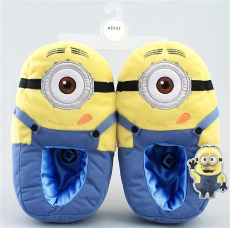 minion house shoes despicable me minion plush bedroom from bonanza things i want