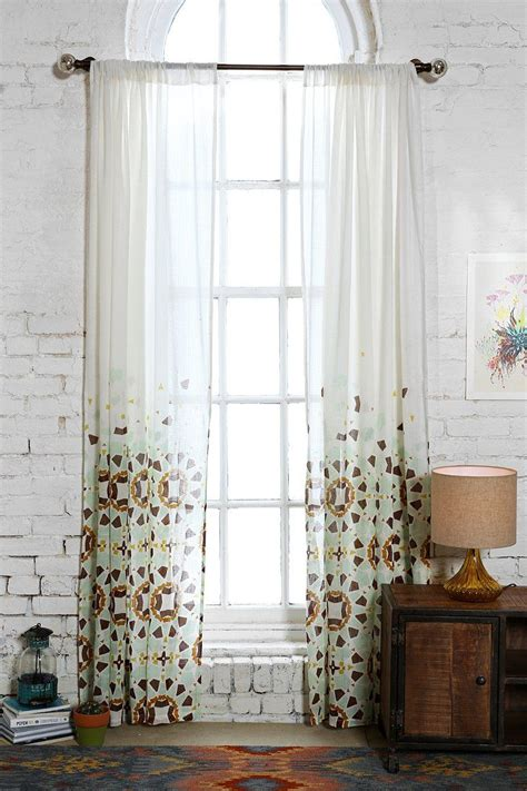 yellow moroccan curtains magical thinking moroccan tile curtain urban outfitters
