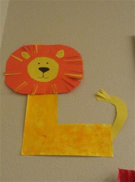l craft project preschool letter l preschool craft ideas