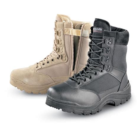 tactical boots s mil spec 174 plus 200 gram thinsulate insulation