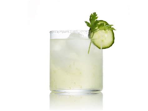 cucumber margarita recipe cucumber cilantro margaritas recipe bobby flay food