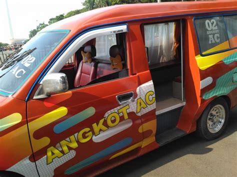 Angkot Saingan metro sepi penumpang angkot m44 tak lagi berpendingin