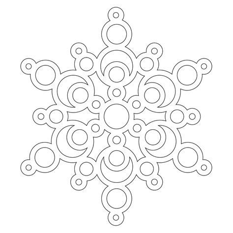 snowflake mandala coloring pages don t eat the paste a half dozen snowflakes to color