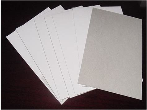 Kertas Manila china kaolinite coated duplex board with grey back 700 1000mm photos pictures made in