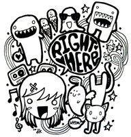 aplikasi doodle name koleksi gambar doodle