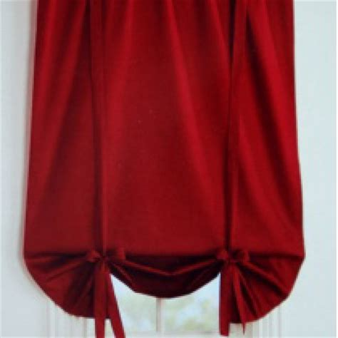 red balloon curtains balloon shade curtain