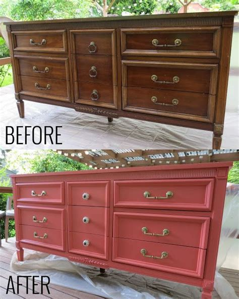Coral Painted Dresser by Best 25 Coral Dresser Ideas On Coral Painted Dressers Coral Furniture And Top Coat