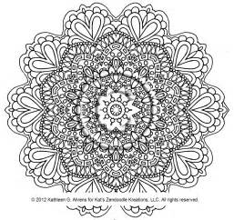 intricate mandala free coloring pages on art coloring pages