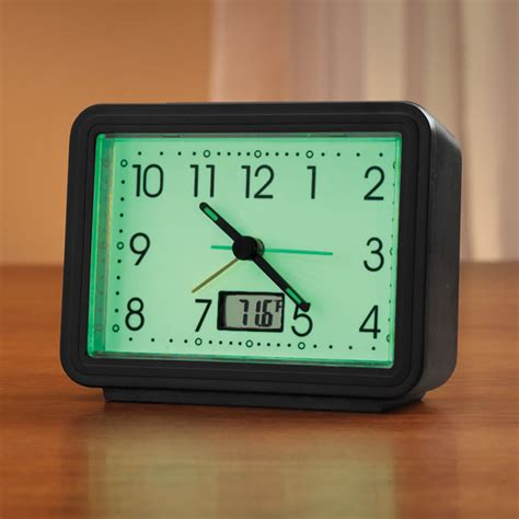 glow in the alarm clock home walter