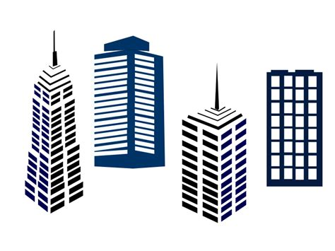 building clipart skyline clipart commercial property pencil and in color