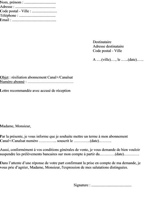 Model courrier resiliation lettre type radiation mutuelle