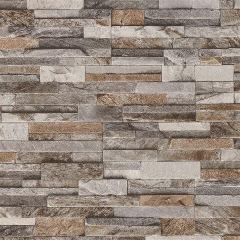 wallpaper grey slate brick effect wallpaper 3d slate stone wall textured vinyl