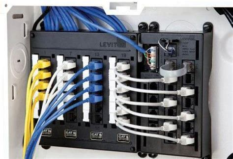 wiring network cables in house buying guide to structured wiring at the home depot