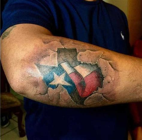 texas themed tattoos best 25 flag ideas on