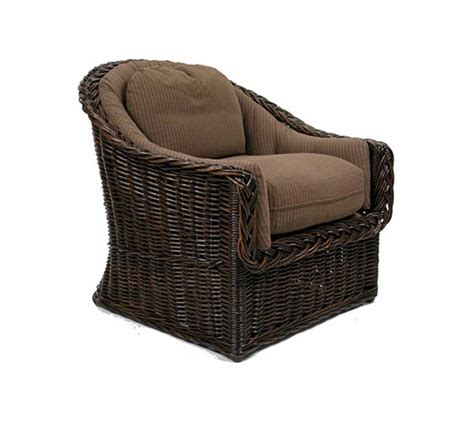 indoor wicker chairs classic back lounge chair wicker material