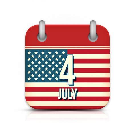 Calendario Americano Calendario Americano 4 De Julio Descargar Vectores
