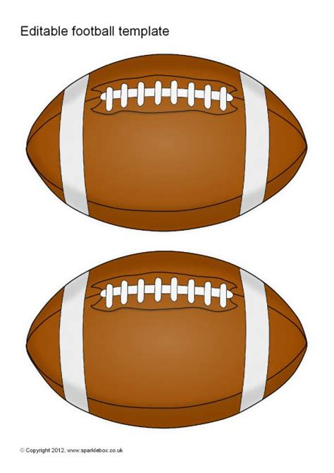 Preview Football Template