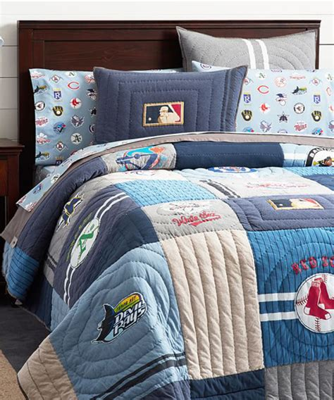 mlb bedding baseball bedding set