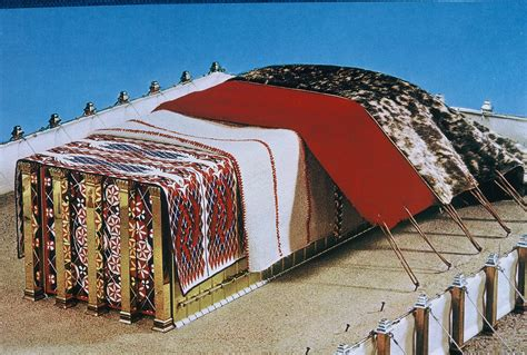 curtains of the tabernacle e26 3 what was the outermost covering of the tabernacle s