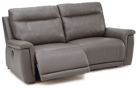 Palliser Leather Sofas by Palliser Westpoint Leather Power Sofa W Footrest Stoney