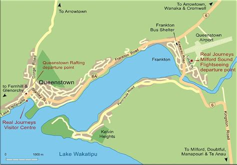 printable map queenstown queenstown map check out queenstown map cntravel