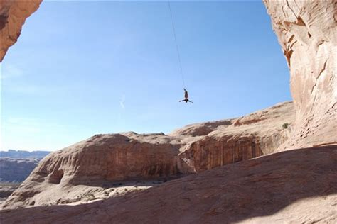 canyon swing death rope swing death at corona arch moab sun news news