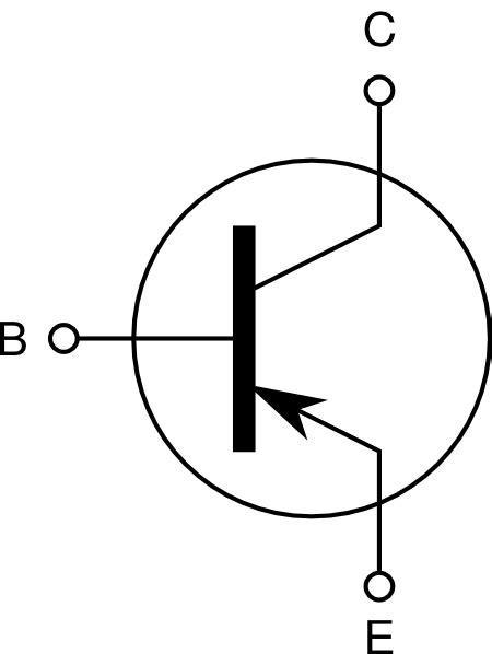 transistor pnp symbol pnp transistor clip at clker vector clip royalty free domain