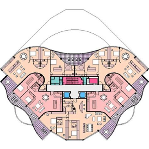Residential Floor Plan riparian plaza brisbane queensland