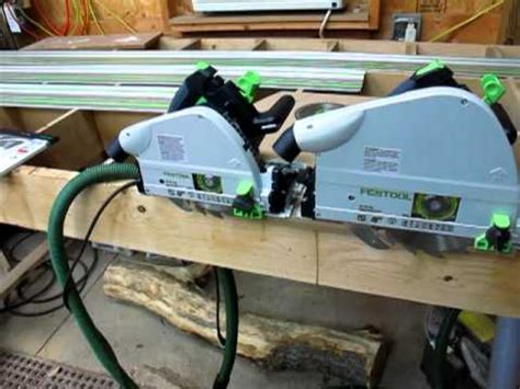 track saw vs table saw festool track saw comparison