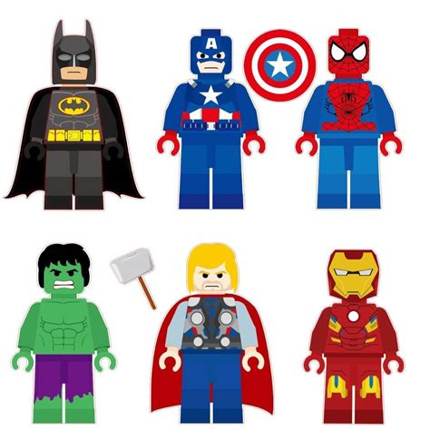 Incredible Hulk Wall Stickers lego super hero removable wall decal huntsimply
