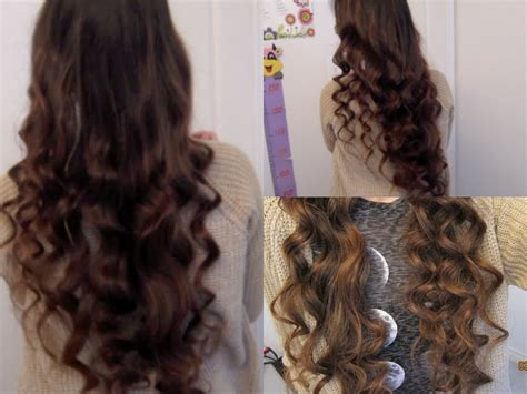 hairstyles for thick hair no heat 5 minute no heat curls youtube