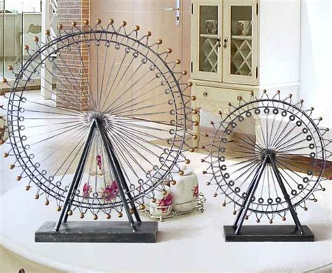rush your adrenaline with ferris wheel home beautification
