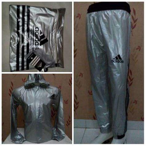 Jaket Sauna Adidas jual stelan baju sauna adidas sauna suit jaket retsleting bahan tebal sevensport bandung