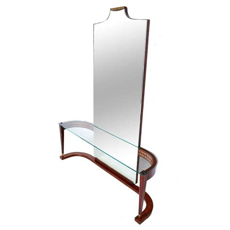 console italiano italian console table with mirror for sale at 1stdibs