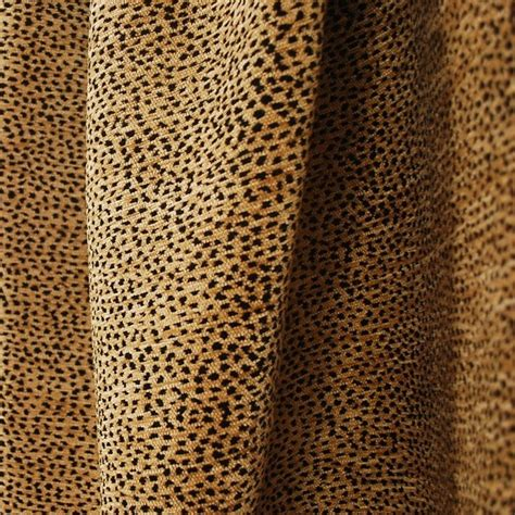 cheetah print upholstery fabric siamese 2495 black tan leopard animal print fabric sle