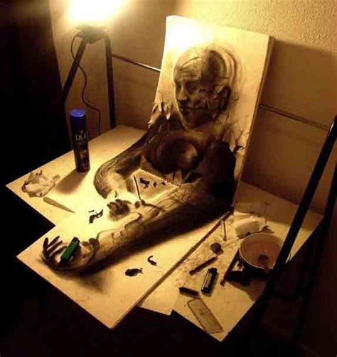 3d Sketches On Paper by Easy 3d Drawings On Paper 3d Drawings On Paper