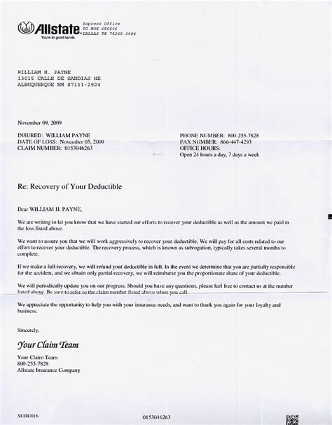 Farmers Insurance Letter Of Experience cr v repaired bwtweenmonday november 9 to monday november