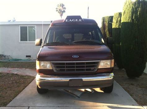 auto body repair training 1995 ford econoline e350 navigation system buy used 1995 ford e 350 econoline base cutaway van 2 door 5 8l in north hollywood california