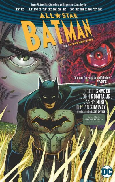all star batman volume 1401274439 all star batman vol 1 my own worst enemy rebirth b n exclusive edition by scott snyder