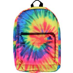 Rainbow Bedroom Accessories Tie Dye Backpack From Tie Dye Closet Purses And Bags