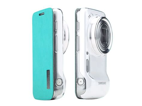 Flipcover Samsung S4 Zoom C101 color flip hoesje voor samsung galaxy s4 zoom sm c101